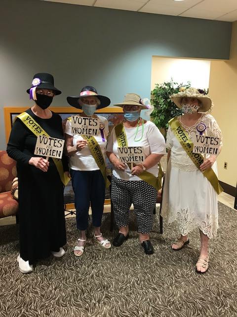 Residents Celebrate Women8217s Equality Day